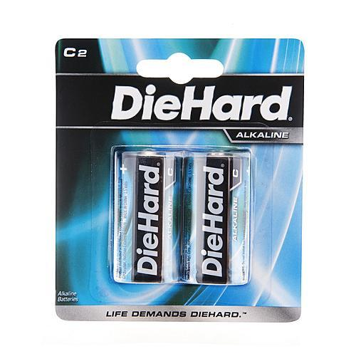 DieHard 41-1194 Alkaline Batteries (C - 2 Pack)
